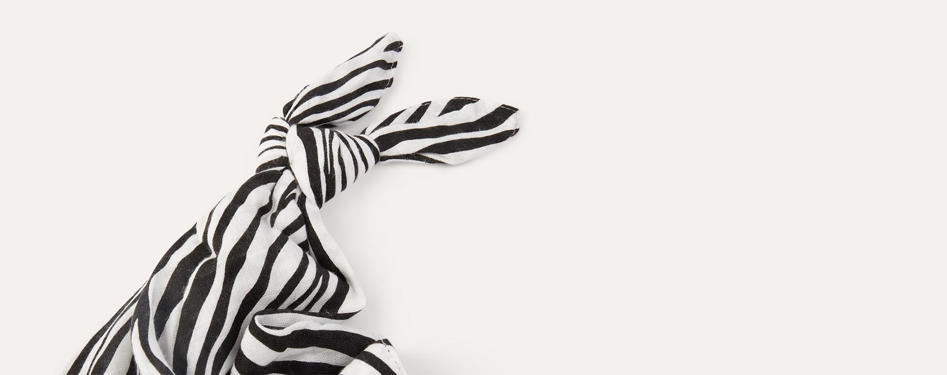 Zebra Etta Loves Comforter