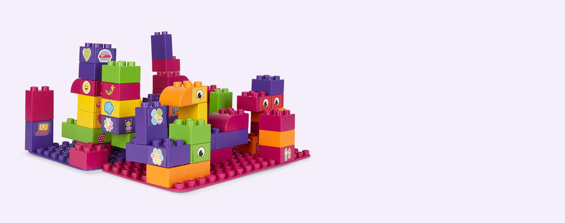 Purple BiOBUDDi Educational Blocks
