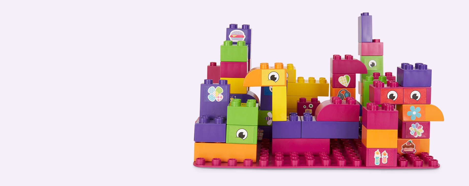Purple BiOBUDDi Educational Blocks