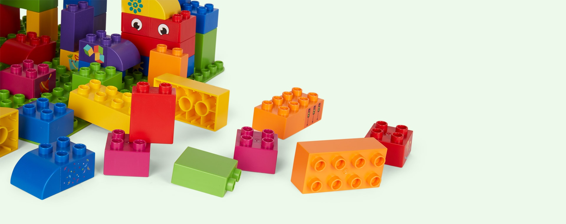 Multi BiOBUDDi Educational Blocks - 100 Blocks