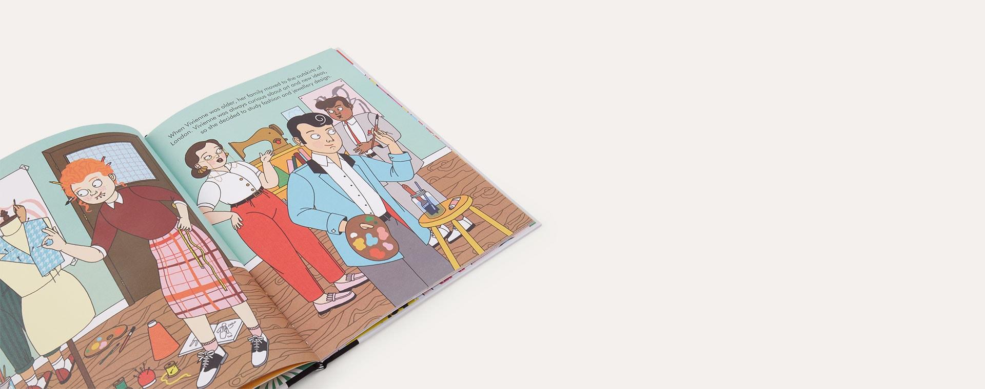 Grey bookspeed Little People Big Dreams: Vivienne Westwood