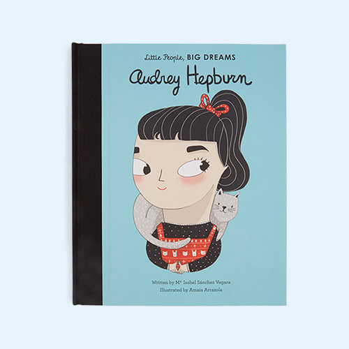 Blue bookspeed Little People Big Dreams Audrey Hepburn