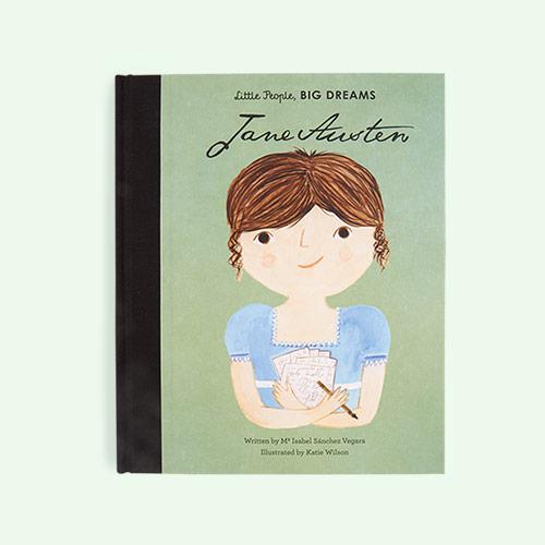 Green bookspeed Little People Big Dreams Jane Austen