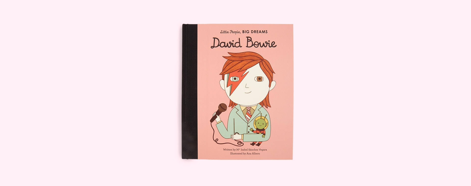 Pink bookspeed Little People Big Dreams David Bowie