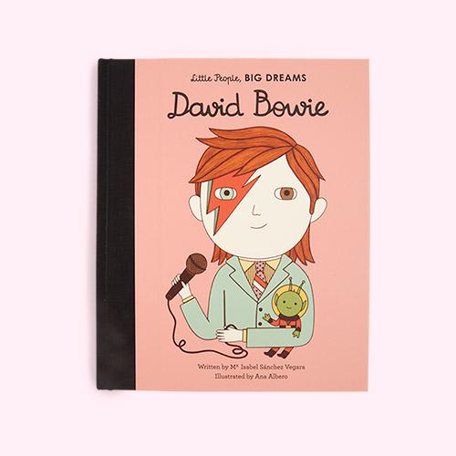 Pink bookspeed Little People Big Dreams David Bowie