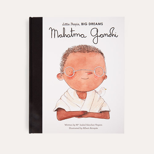 White bookspeed Little People Big Dreams Mahatma Gandhi