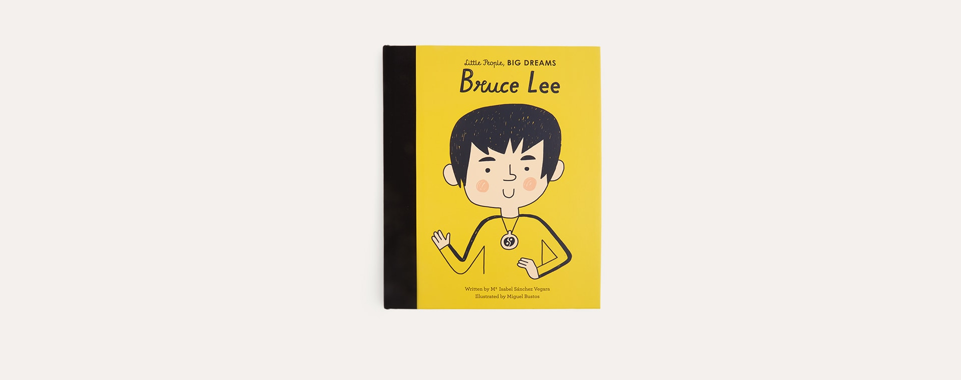 Yellow bookspeed Little People Big Dreams Bruce Lee