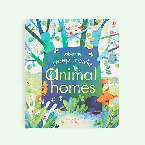 Blue bookspeed Peep Inside: Animal Homes