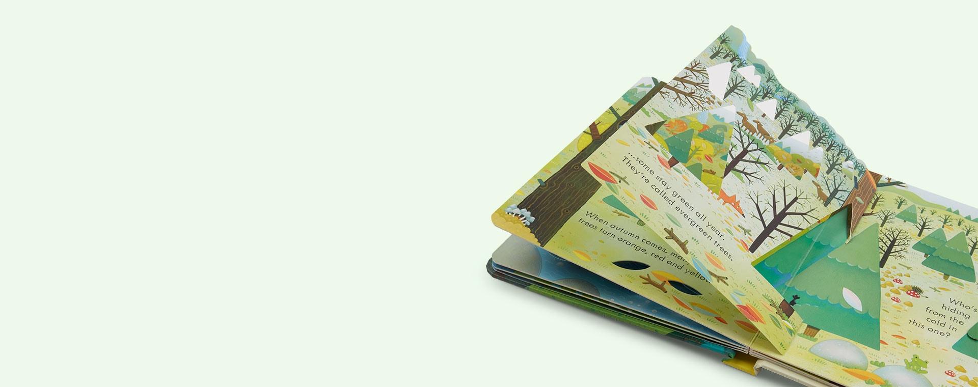 Green bookspeed Peep Inside: The Forest