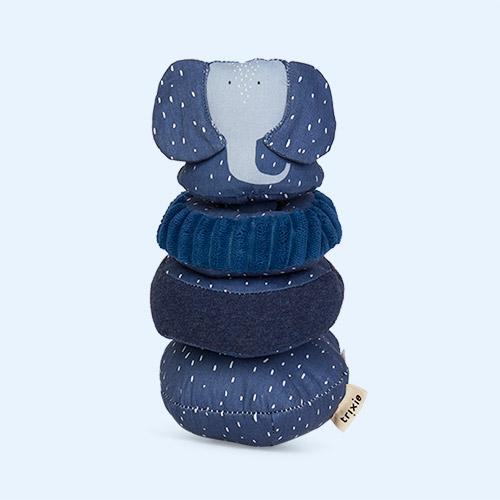Mrs Elephant Trixie Wobbly Animal Stacker