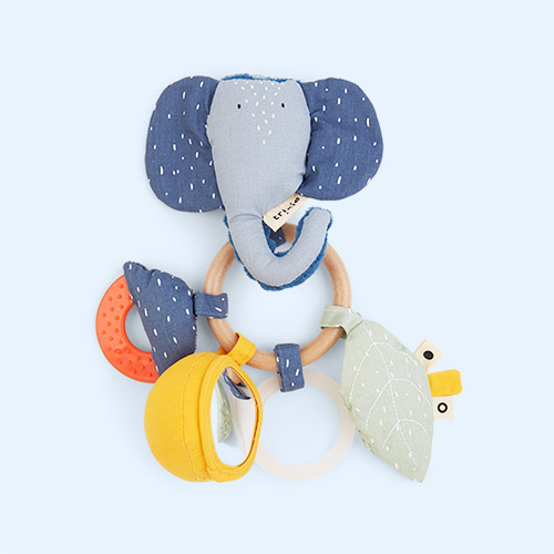 Mrs Elephant Trixie Activity Ring