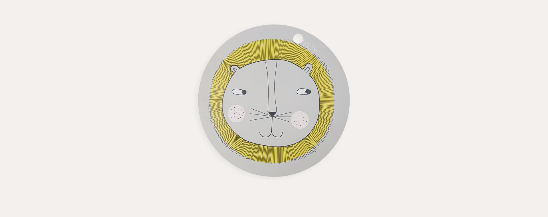 Lion OYOY Round Placemat
