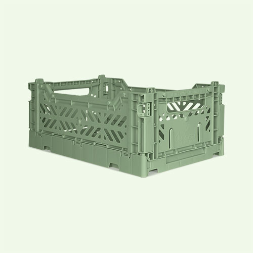 Almond Green Aykasa Mini Crate