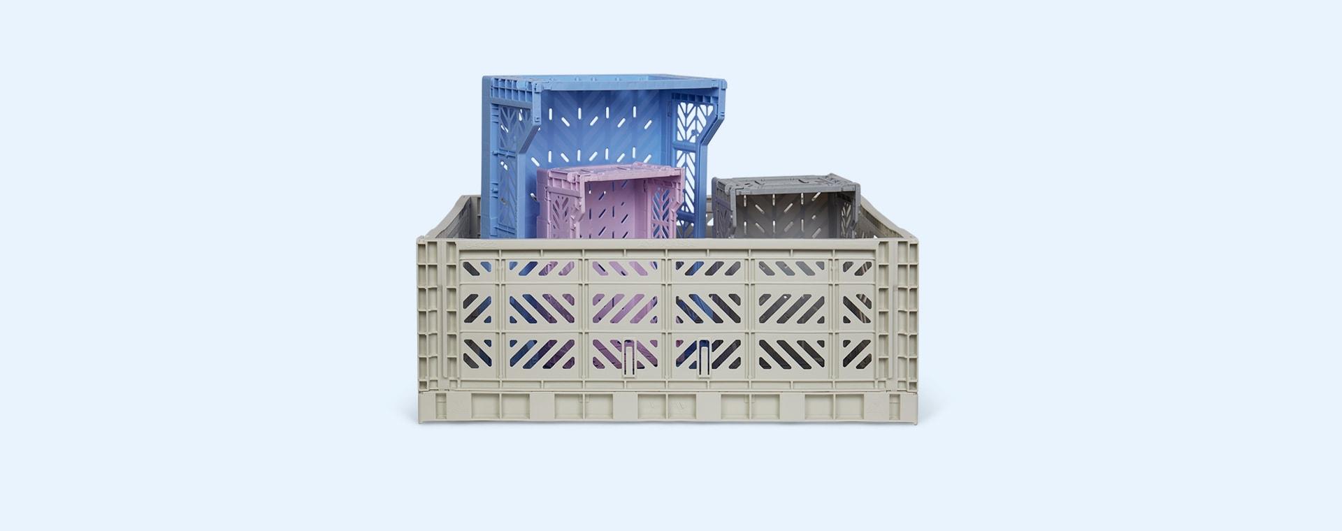 Baby Blue Aykasa Midi Crate