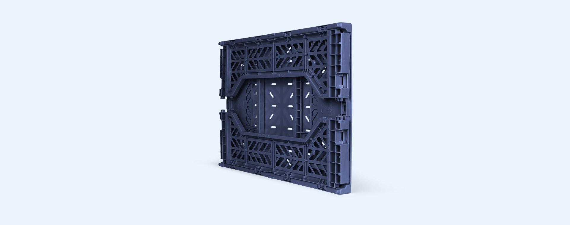 Navy Aykasa Midi Crate