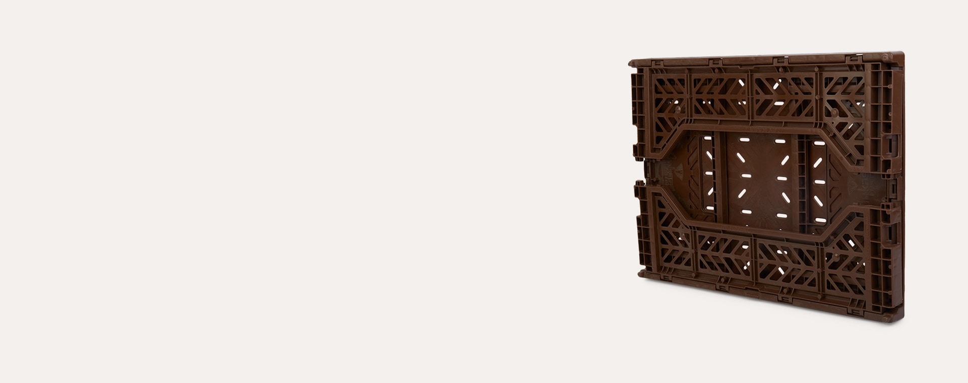 Chocolate Aykasa Midi Crate