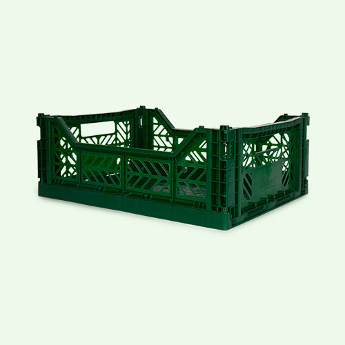Dark Green Aykasa Midi Crate