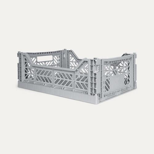 Grey Aykasa Midi Crate