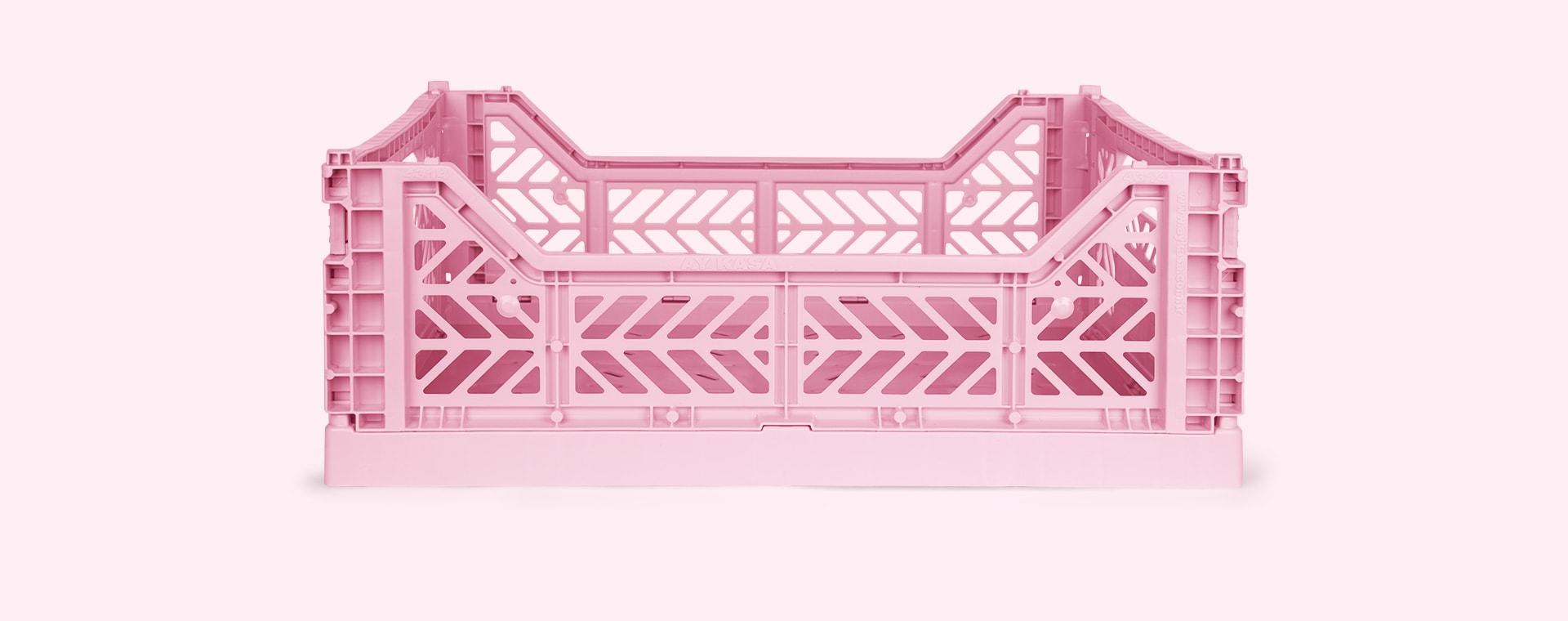 Baby Pink Aykasa Midi Crate