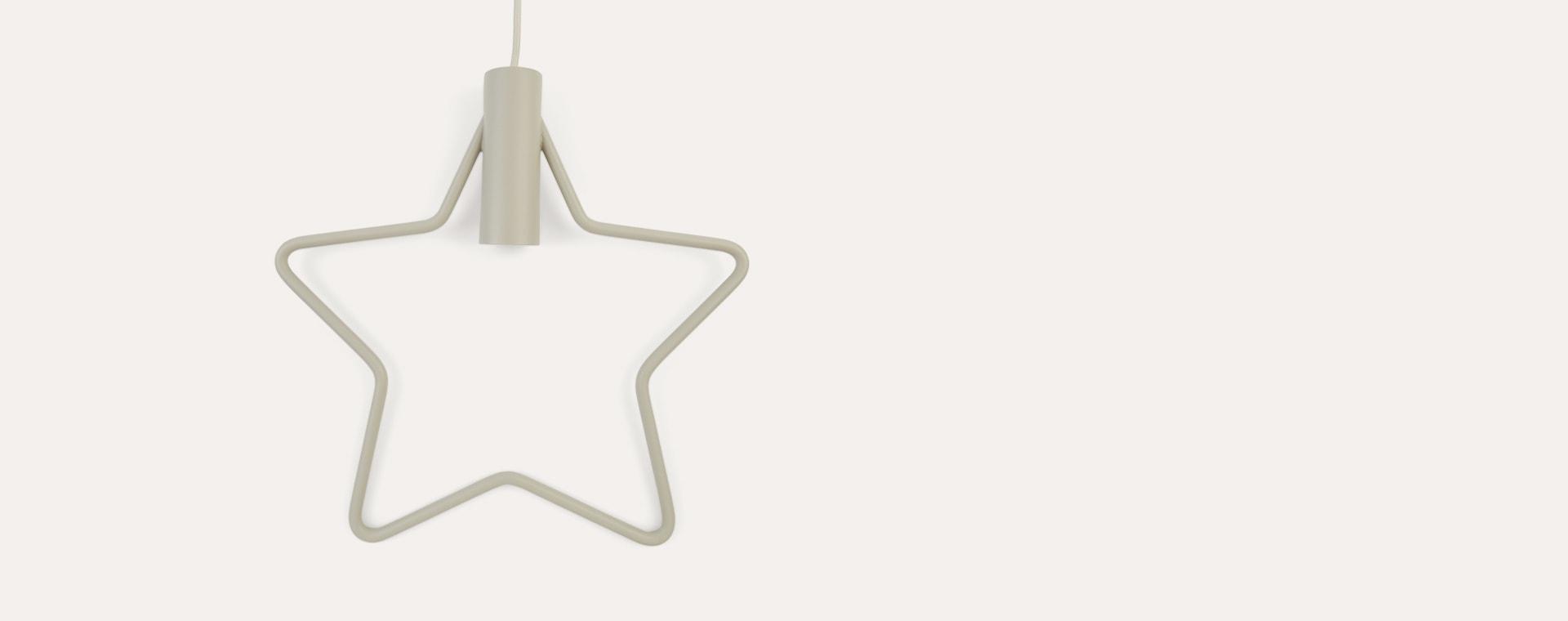 Light Grey Star Ferm Living Pendant Light