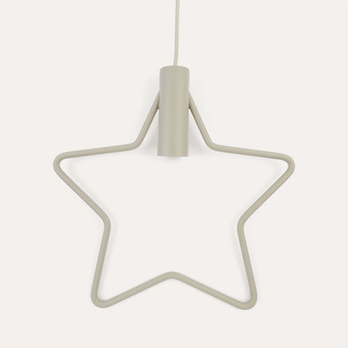 Light Grey Star Ferm Living Pendant Light