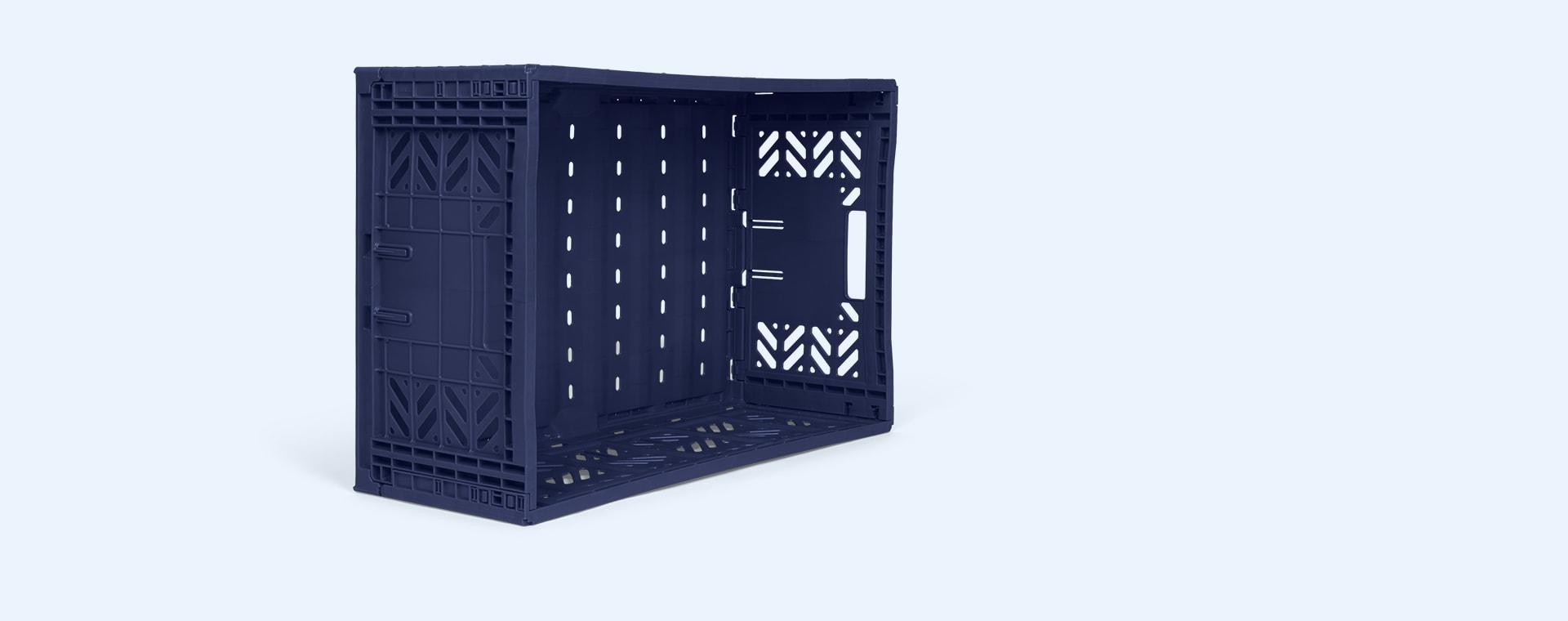 Navy Aykasa Maxi Crate