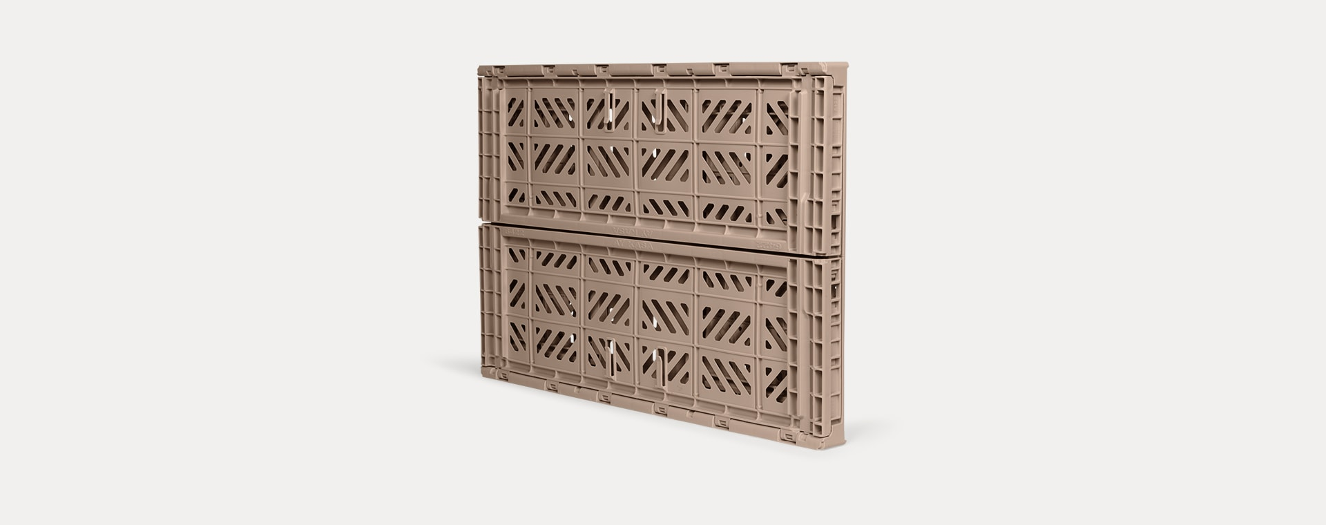 Warm Taupe Aykasa Maxi Crate