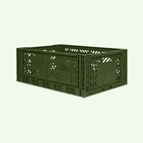 Khaki Aykasa Maxi Crate