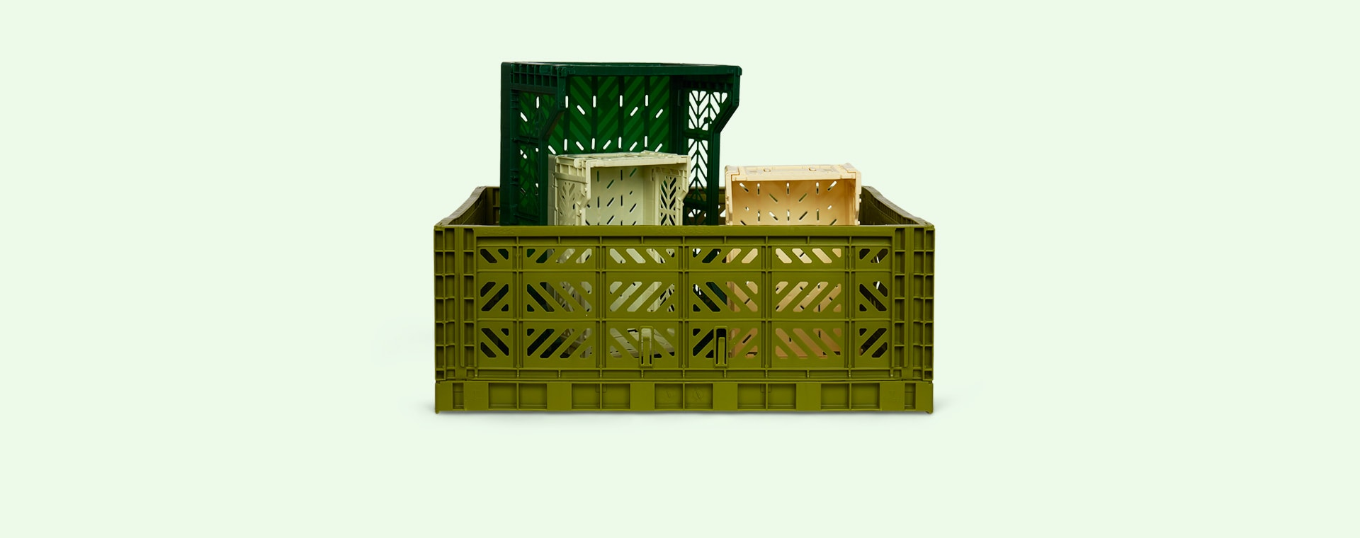 Olive Aykasa Maxi Crate