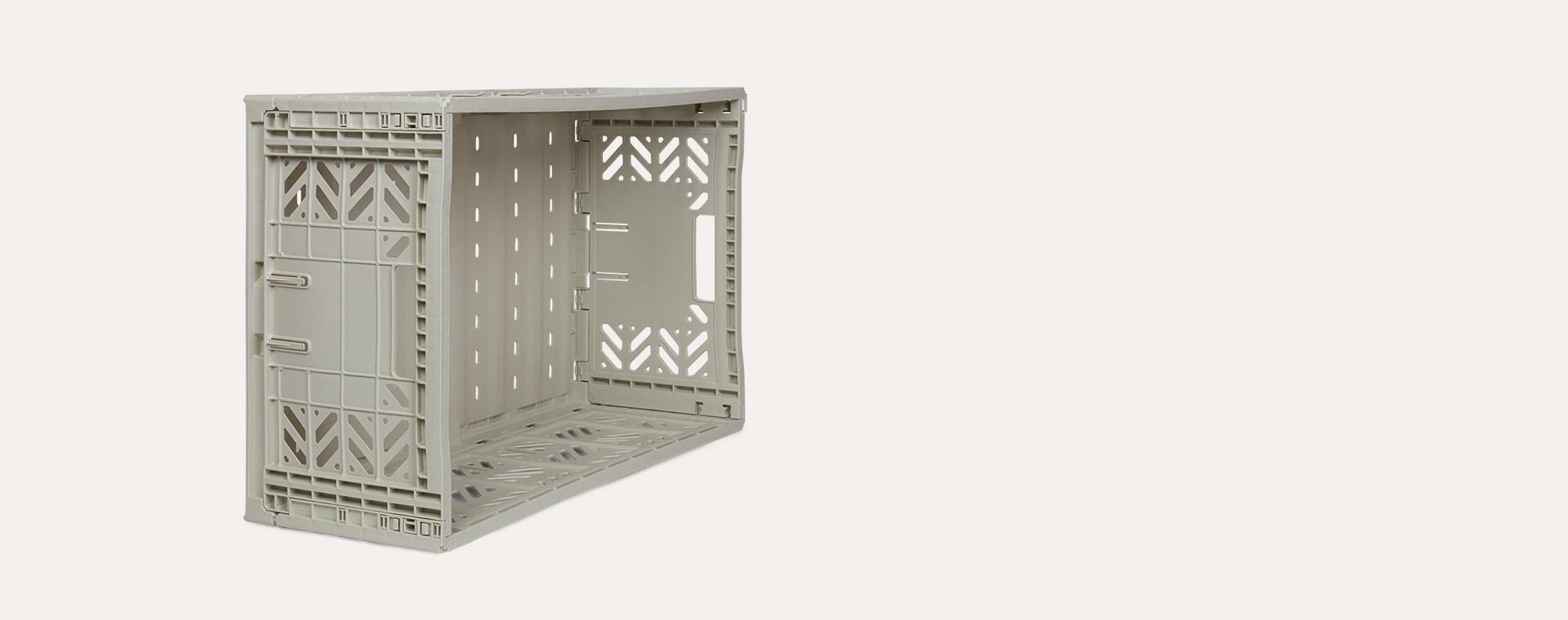 Light Grey Aykasa Maxi Crate