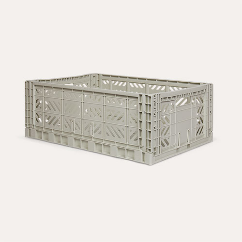 Light Grey Aykasa Maxi Crate