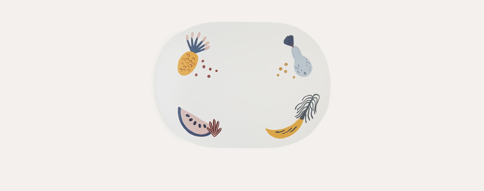 Off White Ferm Living Fruiticana Dinner Mat