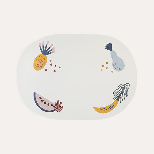 Off White Ferm Living Fruiticana Dinner Mat