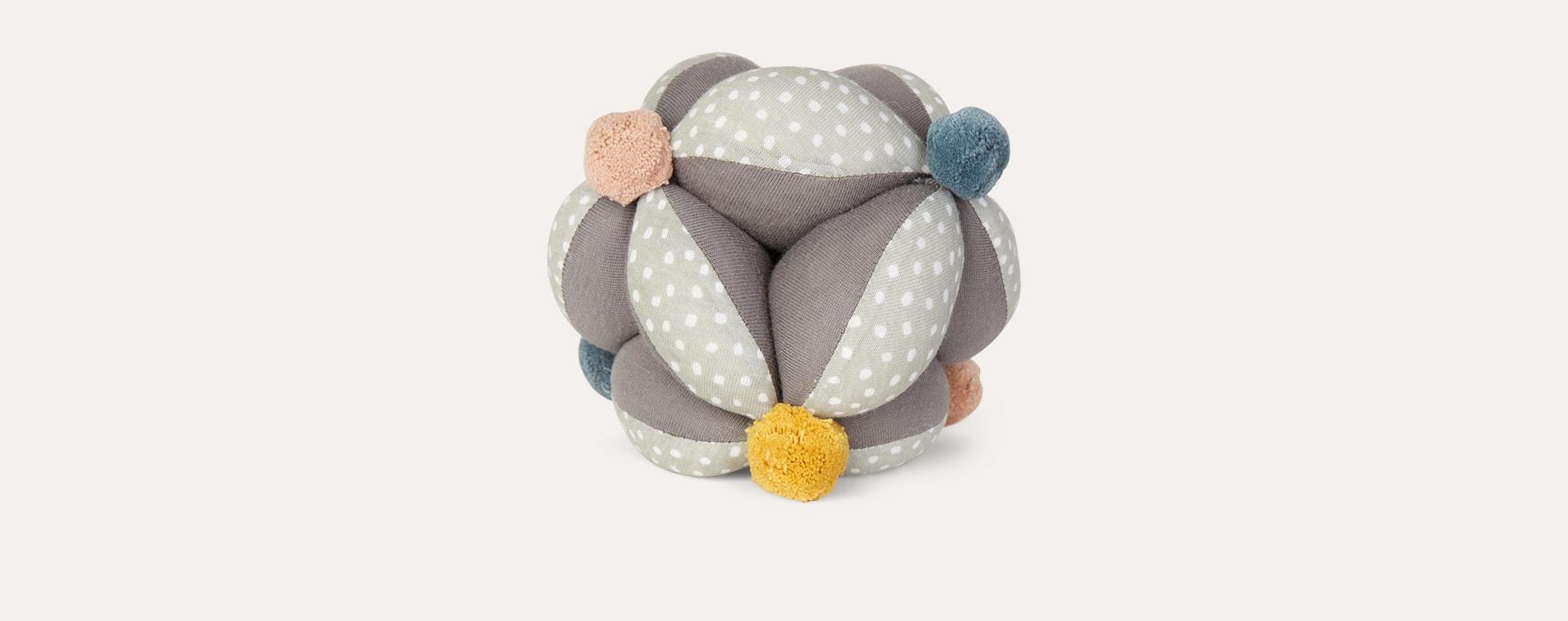 Grey OYOY Baby Juggling Ball