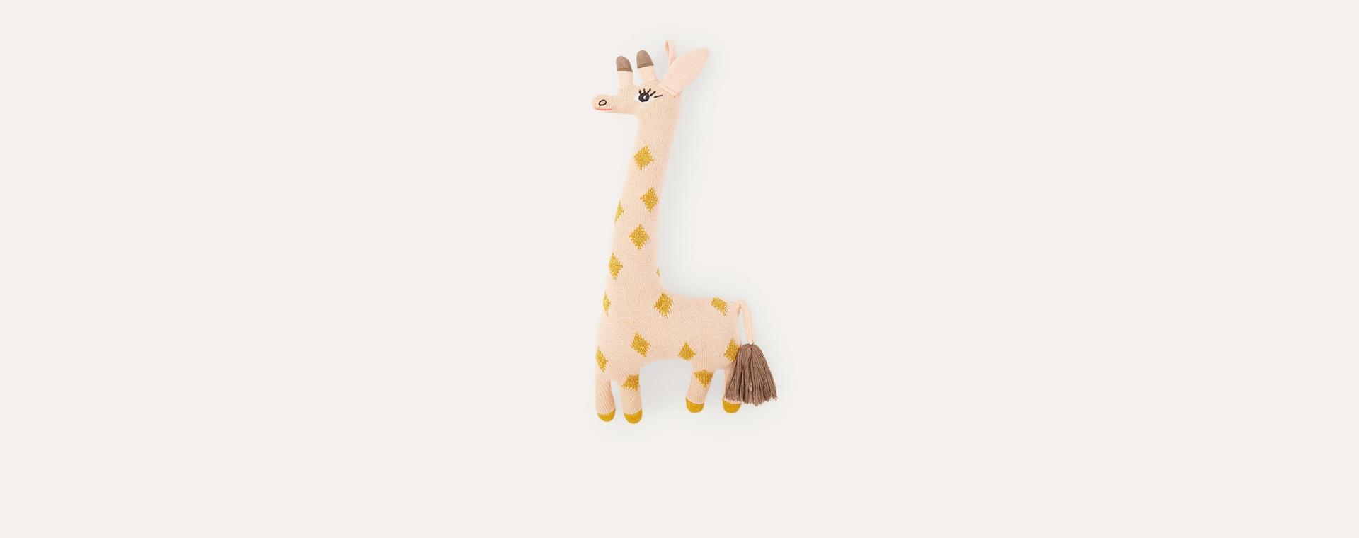 Rose and Amber OYOY Darling Cushion Baby Guggi Giraffe