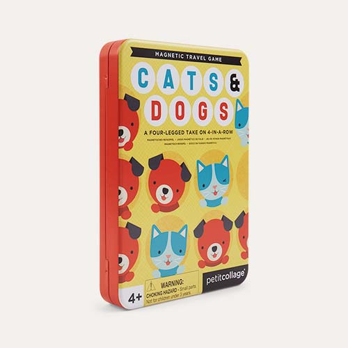 Cats & Dogs Four in a Row Petit Collage Magnetic Travel Game