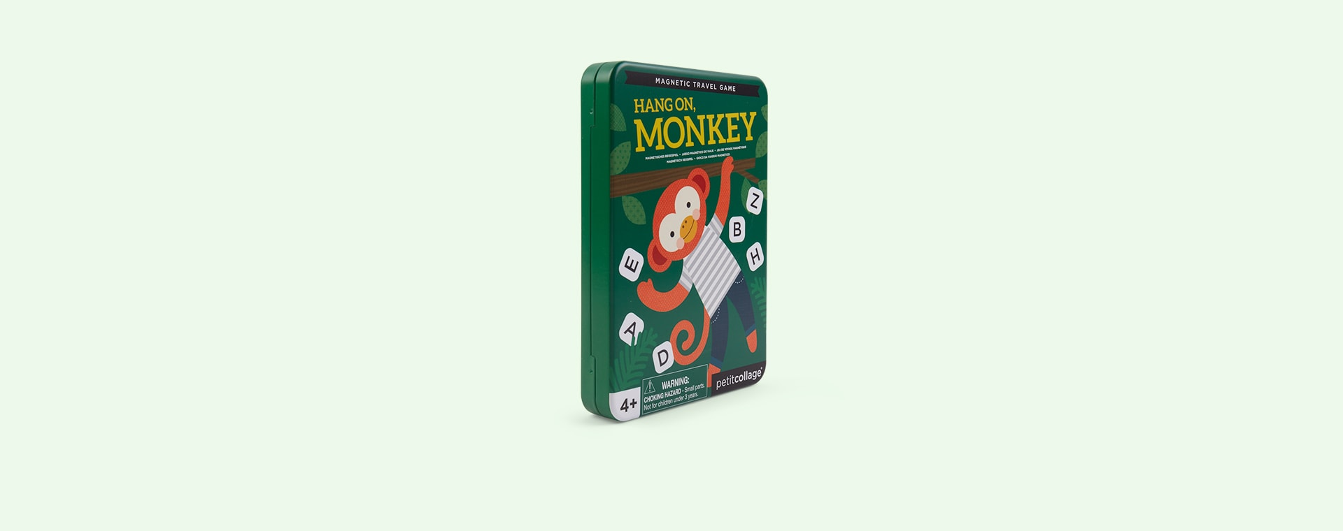 Hang On Monkey Petit Collage Magnetic Travel Game