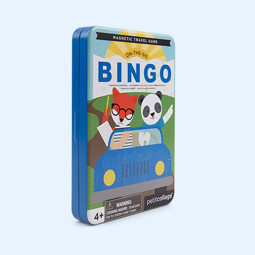 Travel Bingo Petit Collage Magnetic Travel Game
