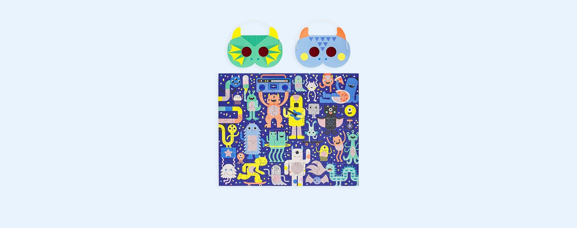 Monster Jam Petit Collage Decoder Puzzle