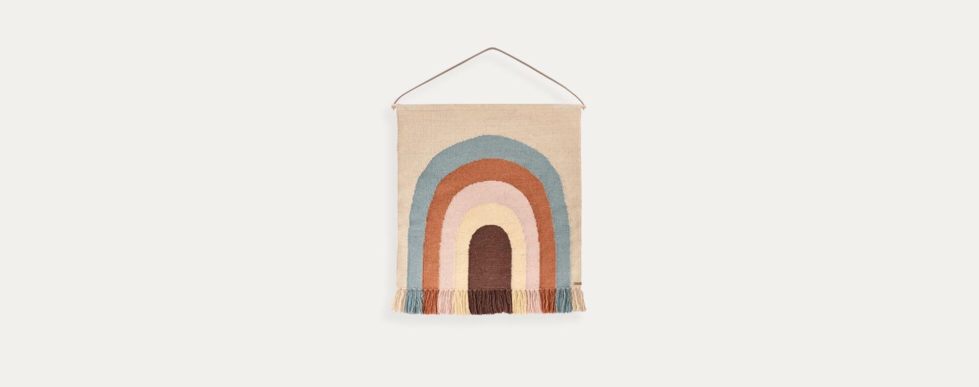 Multi OYOY Follow The Rainbow Wall Rug