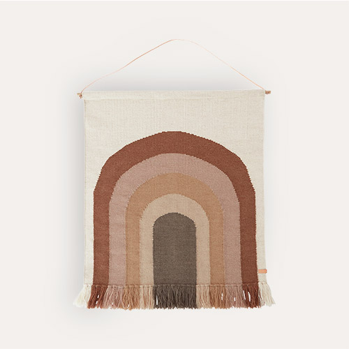 Choko OYOY Follow The Rainbow Wall Rug