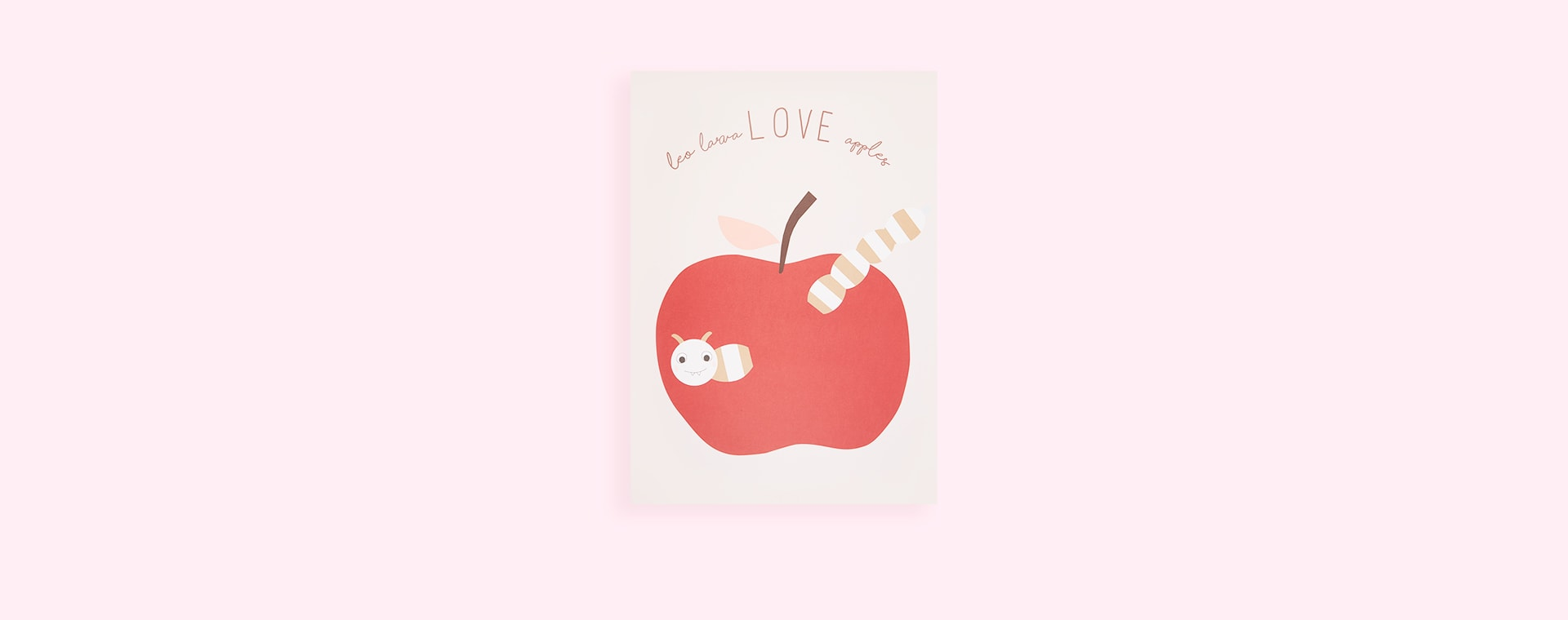 Powder OYOY Love Apples Poster