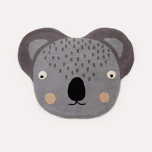 Grey OYOY Koala Rug