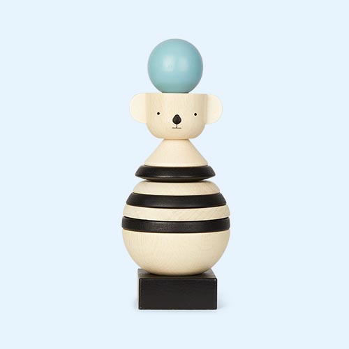 Neutral OYOY Wooden Stacking Koala