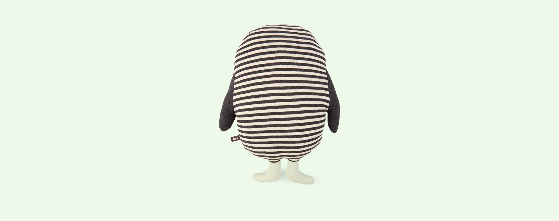 Black OYOY Penguin Pingo Cushion