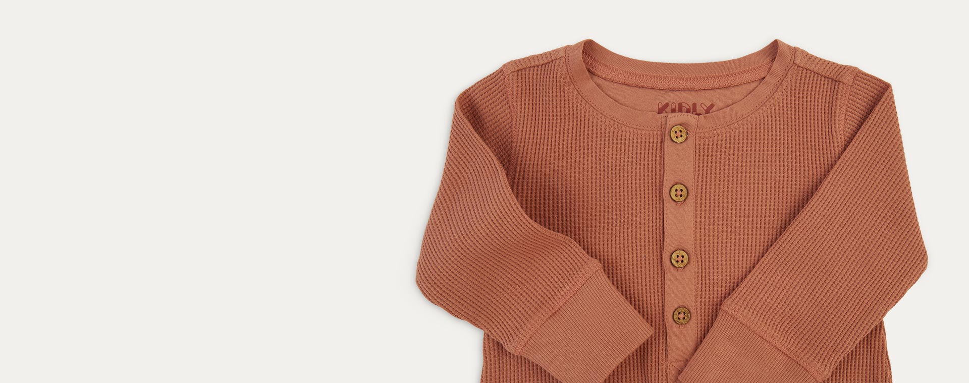 Coral KIDLY Label Waffle All-In-One