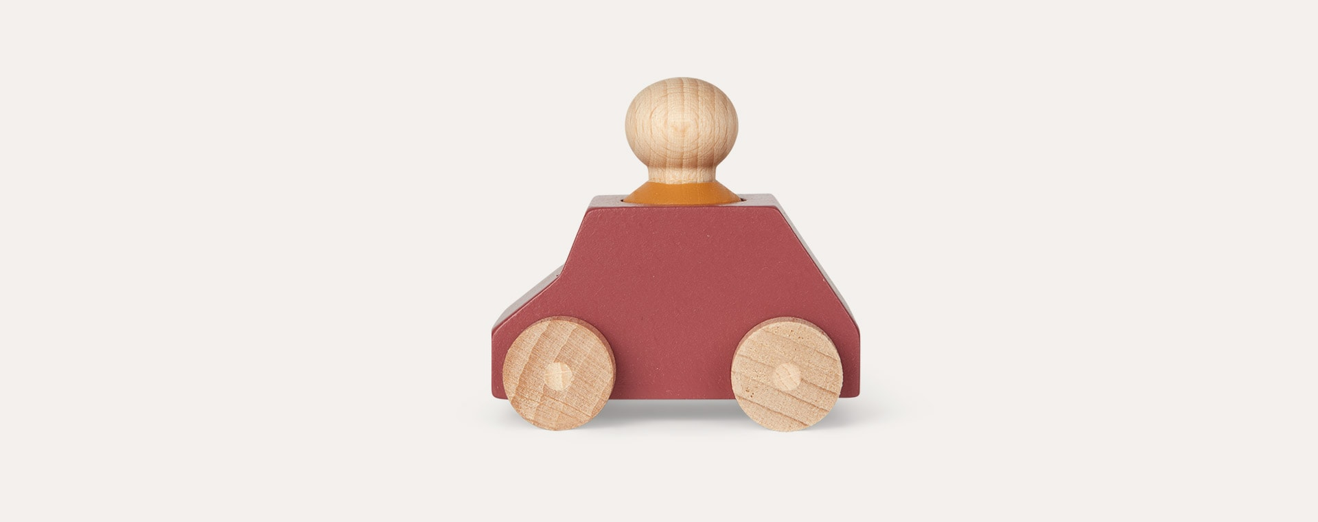 Plum Lubulona Wooden Toy Car