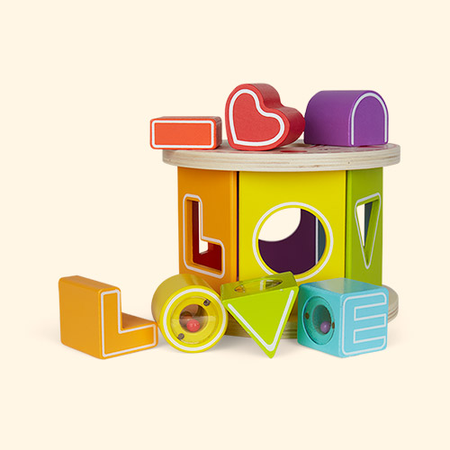 Multi Classic World Love Shape Sorter