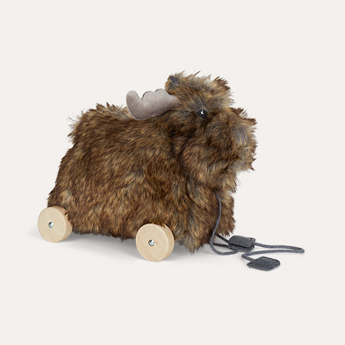 Brown Kid's Concept Pull Along Moose