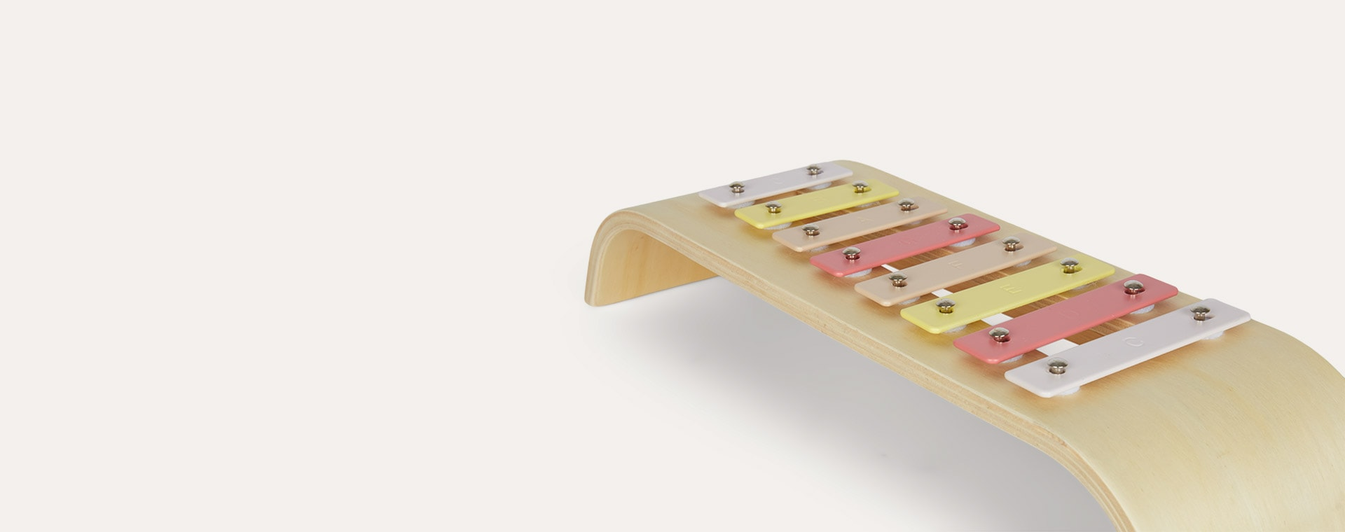 Pink Kid's Concept Colourful Xylophone